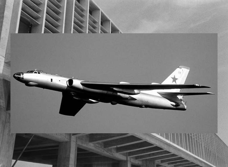 Дальний бобмадировщик Ту-16