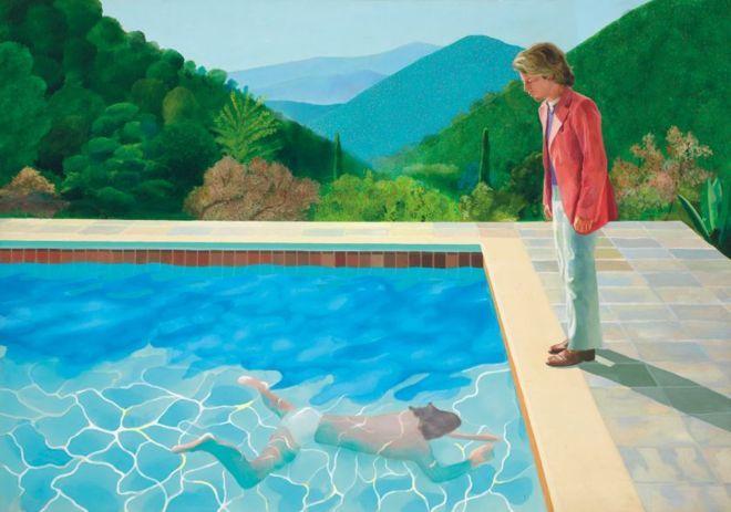 Дэвида Хокни. Портрет художника (Бассейн с двумя фигурами)