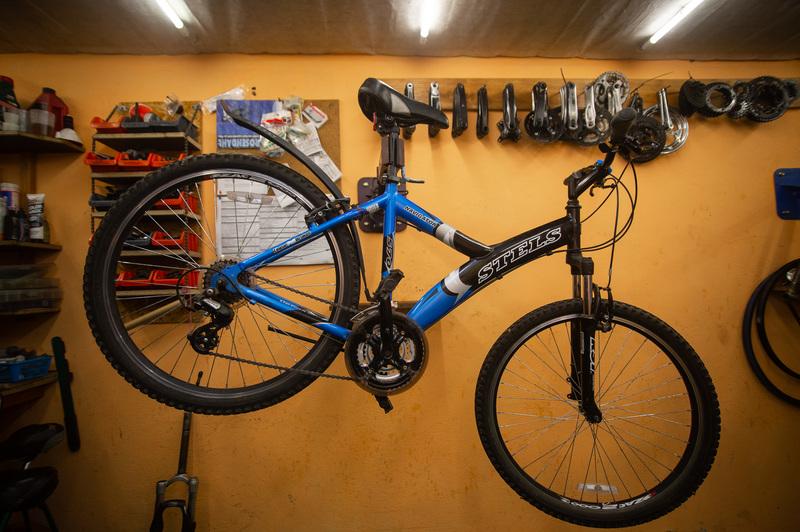 Велосипед, который подвергнется кастомизации к VivaRovar при поддержке «Балтика 0»