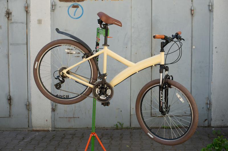 Велосипед, кастомизированный к VivaRovar при поддержке «Балтика 0»
