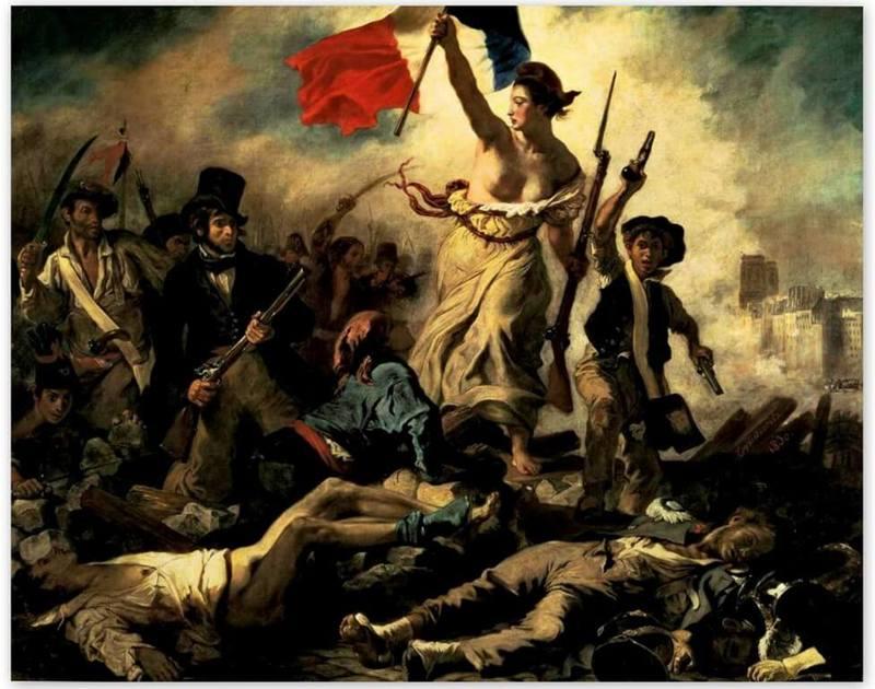 Эжен Делакруа, «Свобода, ведущая народ»