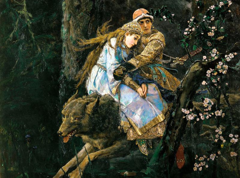 Виктор Васнецов, «Иван-царевич на сером волке»»