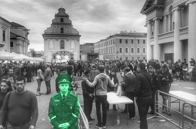 Дзажовые вечера в Минске, оригинал фото: Антон Мотолько
