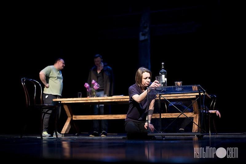 Сцена из спектакля «Толерантность». Фото: Екатерина Артименя, Культпросвет
