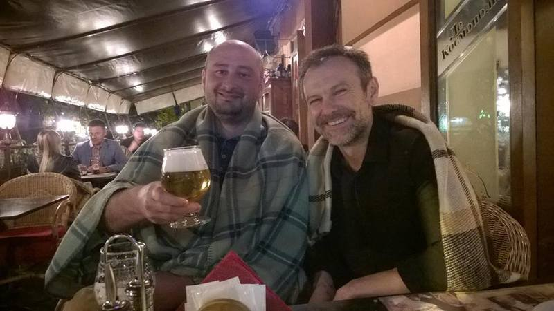 Аркадий Бабченко и Святослав Вакарчук