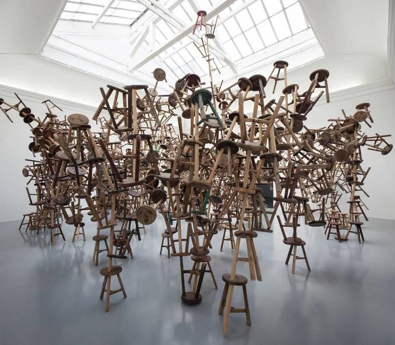 Инсталляция Ай ВэйВэя на выставке современного искусства в Венеции