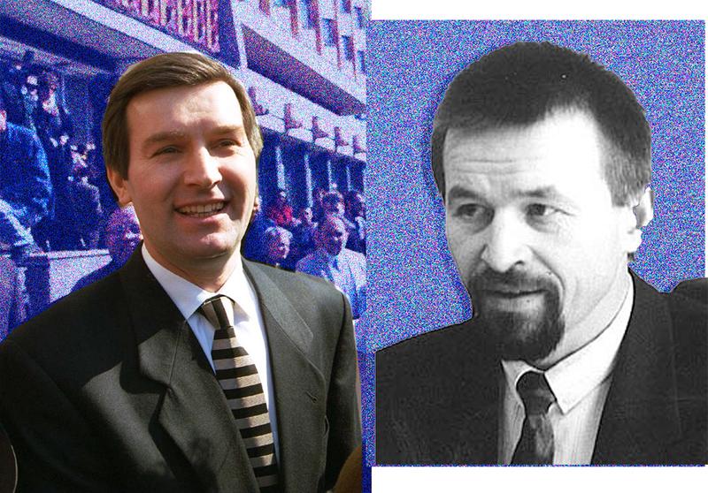 Виктор Гончар и Анатолий Красовский
