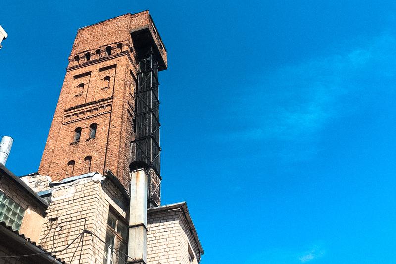 Дроболитейная башня