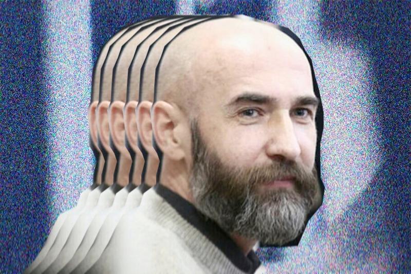 Алесь Юркойть. Фото оригинала: Сергей Гудилин