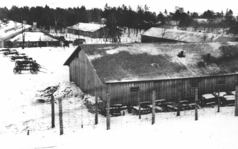 Деревянные бараки Stalag 352 (не сохранились)