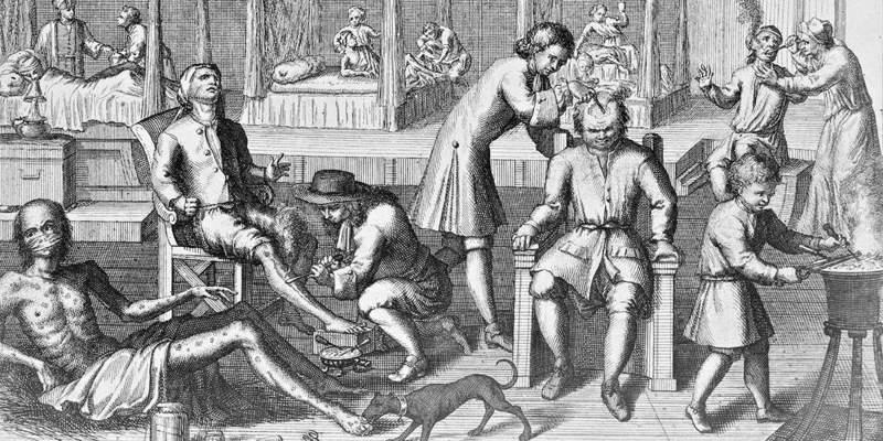 Лечение сифилиса ртутью