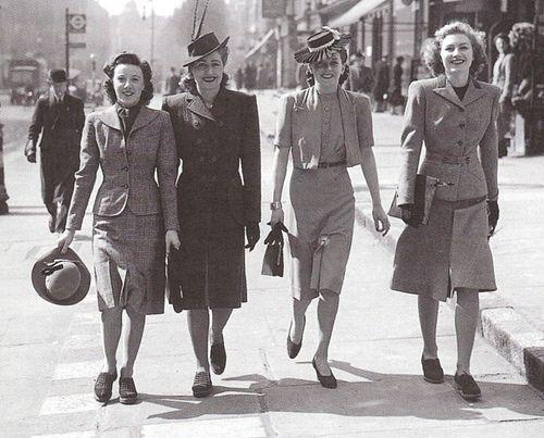 Мода 1940-х