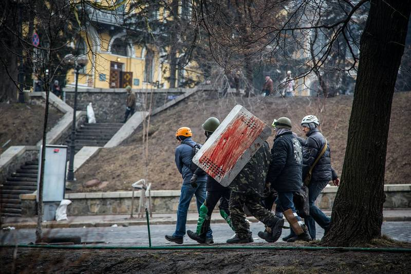 Майдан. Фото: Петр Шеломовский