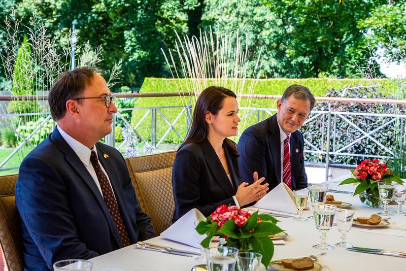 Светлана Тихановская на встрече с заместителем госсекретаря США