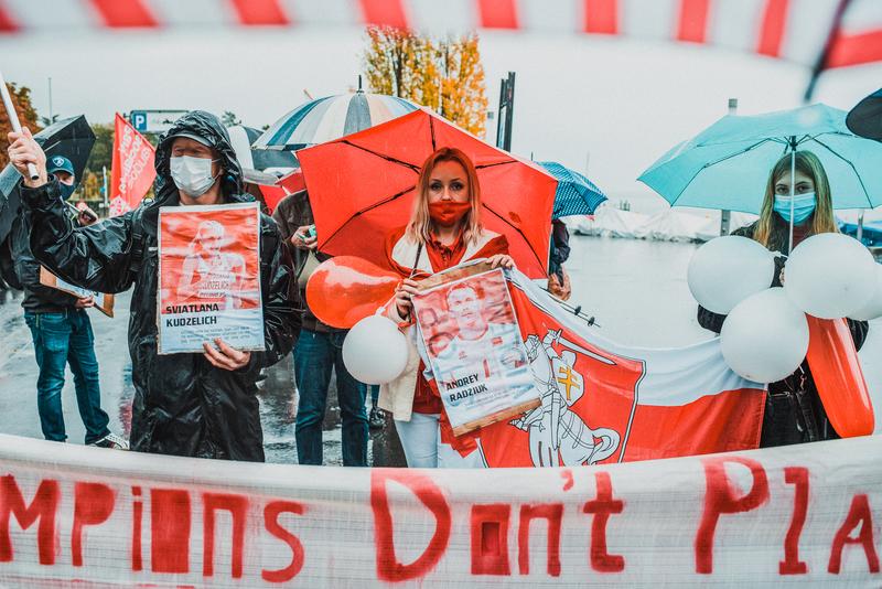 Акция солидарности в Швейцарии