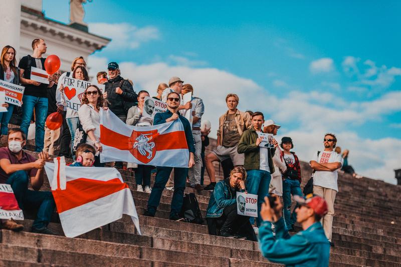 Акция солидарности в Финляндии