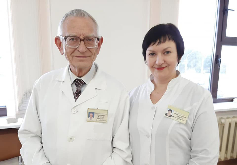 Виталий Равинский и Ольга Равинская