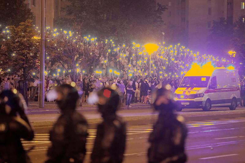 Августовские протесты в Беларуси 2020 года