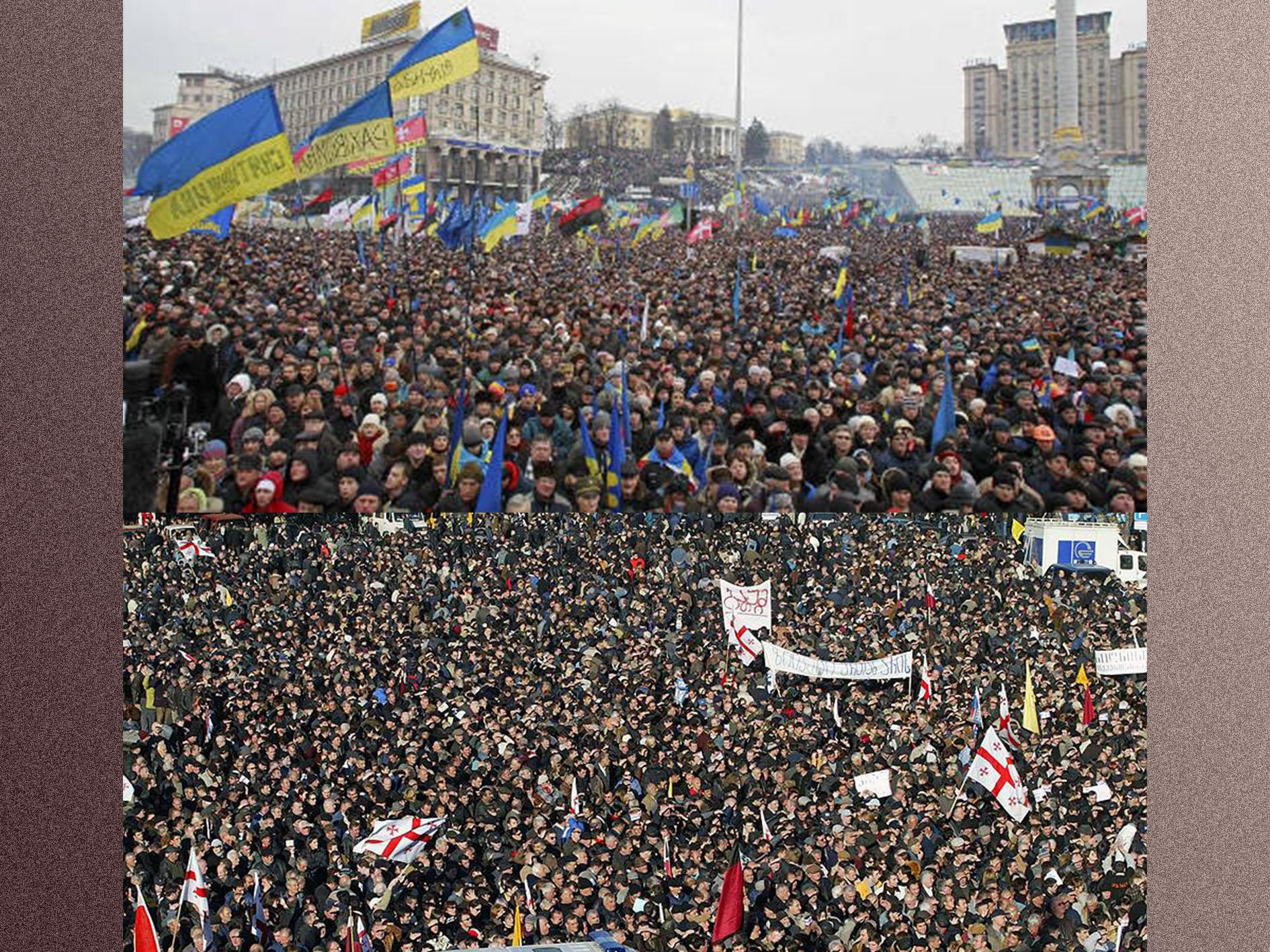 Революции в Грузии и Украине