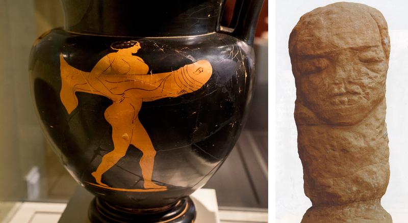 Античная ваза и Шкловский идол