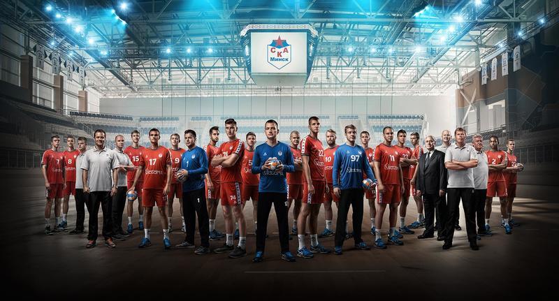 Из проекта для handball club Ska Minsk