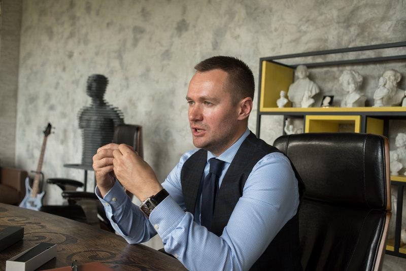 Cоучредитель сети кофеен Sorso Олег Сенокосов