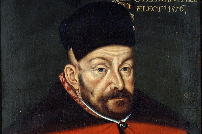 Портрет Стефана Батория. Автор Войцех Стефановский, 1576 год