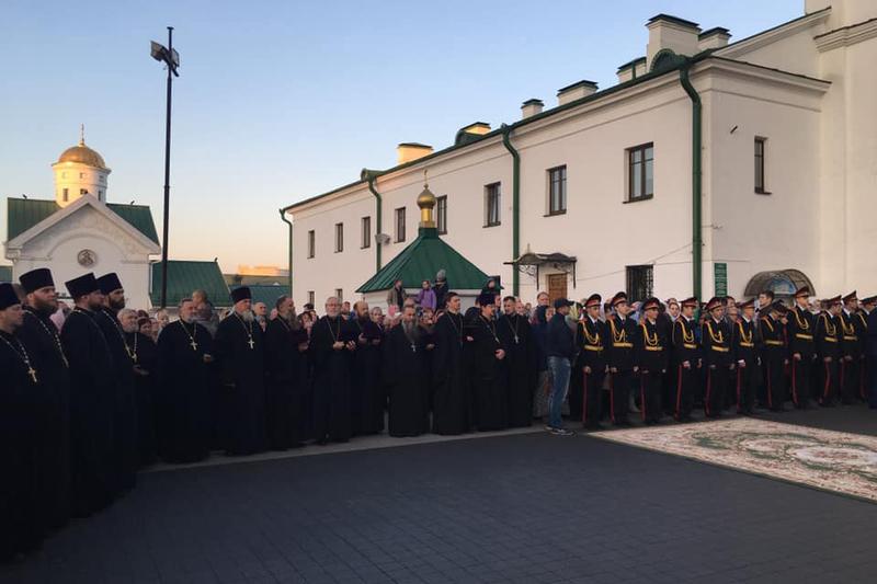 Приезд Патриарха Кирилла в Минск. Фото: Александр Шрамко