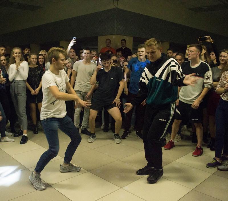 Вечеринка «ВЛКСМ - перезагрузка». Из поста группы БРСМ Полесского государственного университета