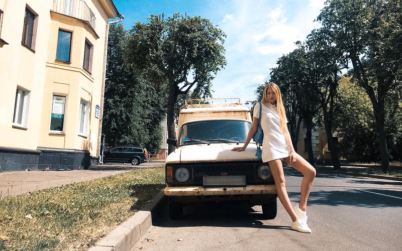 Фудблогер, модель и телеведущая Александра Виторская