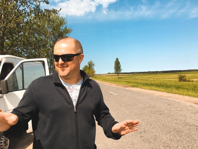 Фермер Андрей Путырский