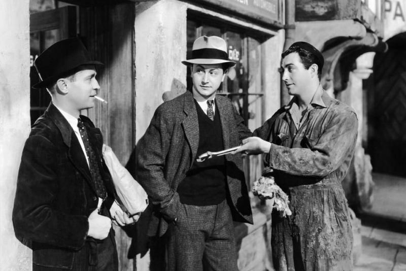 Кадр из фильма «Три товарища»