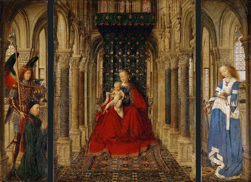 Дрезденский триптих, Ян ван Эйк