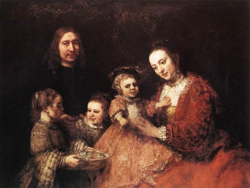 «Семейный портрет», Рембрандт