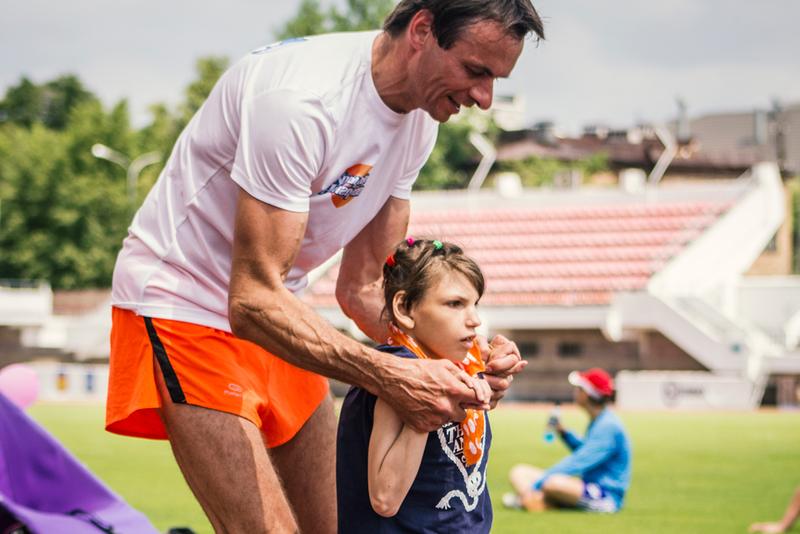 Дмитрий Тимашков с дочкой Лилей