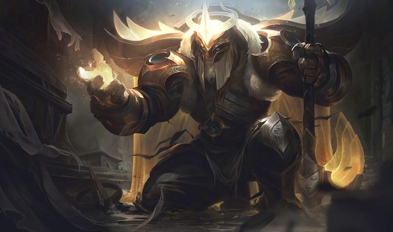 Концепт-арт из игры League of legends