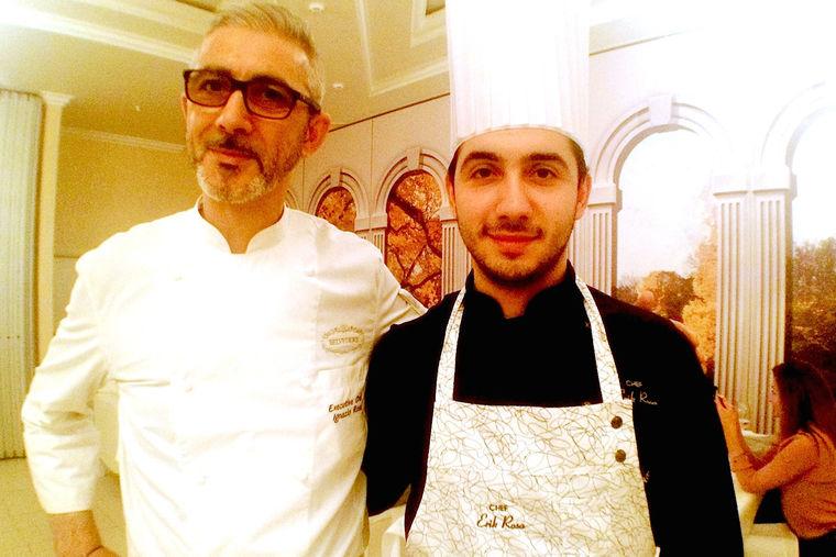 Иньяцио Роза с сыном Эриком