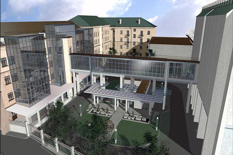 Так будет через 10 лет будет выглядеть музейный квартал, объединяющий здания на улицах Кирова, Ленина, Маркса. фото: naviny.by