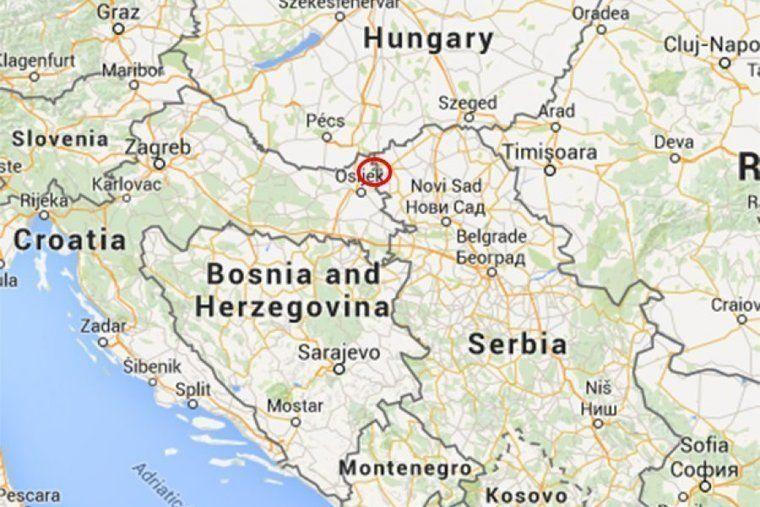 Либерлэнд на карте