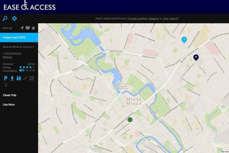 Скриншот с сайта ease-of-access.com