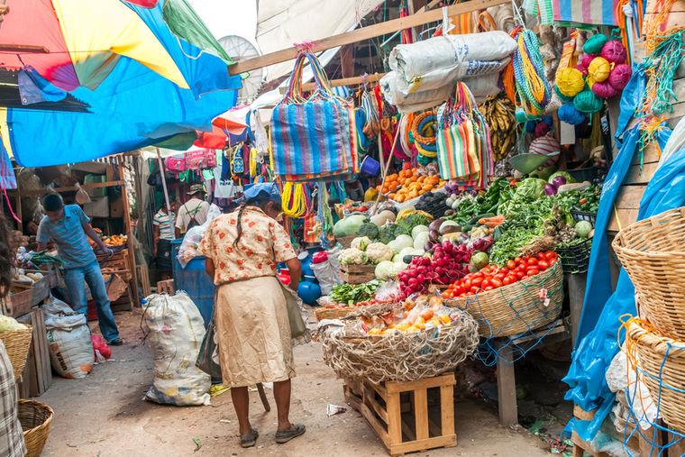Рынок в Гондурасе, фото: Sahibi Milosk