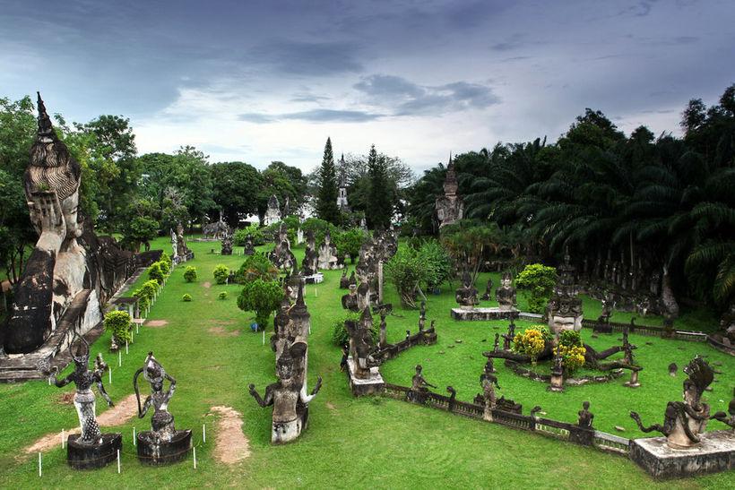 Будда-парк, Лаос