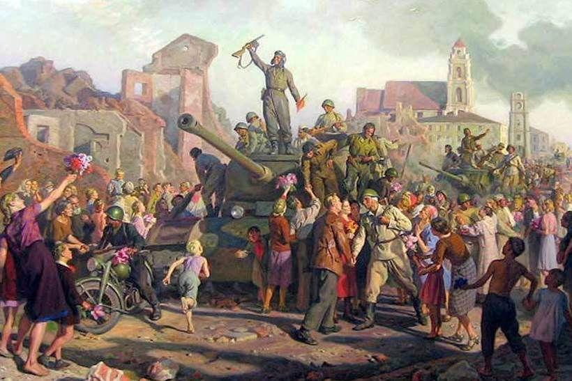 Валентин Волоков. «Минск 3 июля 1944 года»