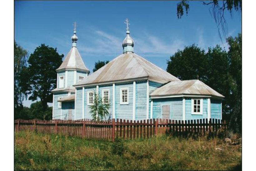 Так выглядела церковь Святого Николая Чудотворца в Малых Муринах