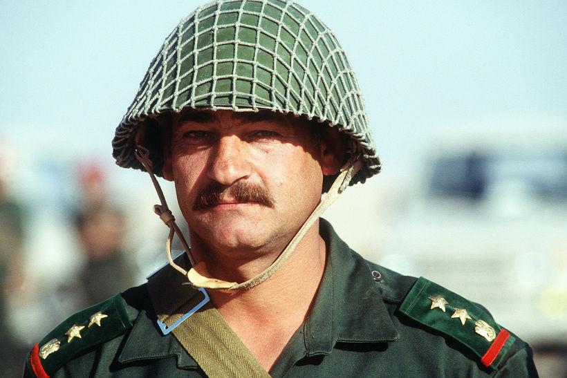 Сирийский подполковник во время Первой войны в Персидском заливе. Фото: Wiki, Syrian Army
