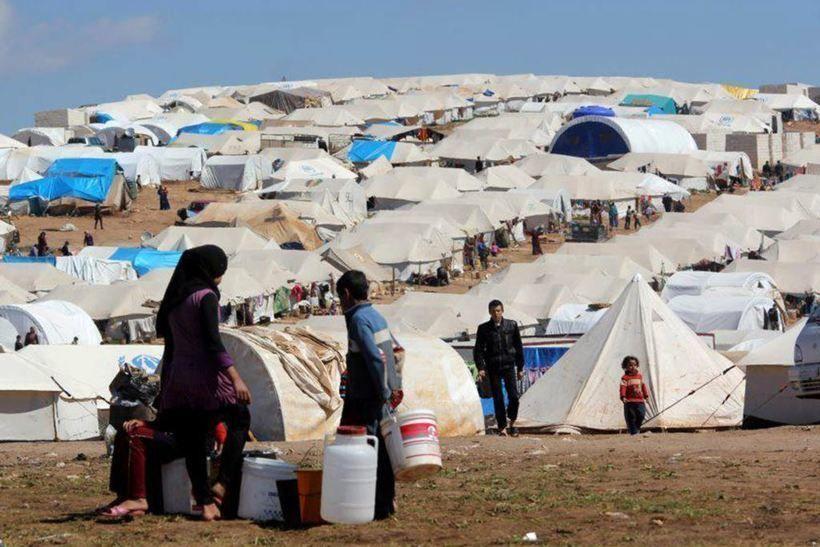 Лагерь беженцев из Сирии, фото: www.asianews.it