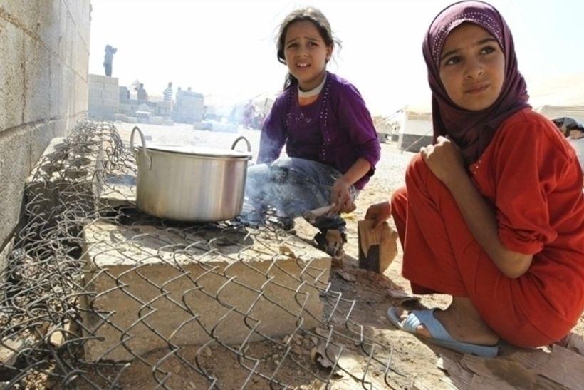 Сирийские беженцы, фото: english.alarabiya.net