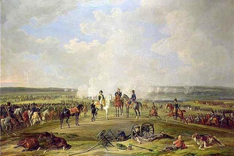 Картина «Наполеон и его войска под Бешенковичами»