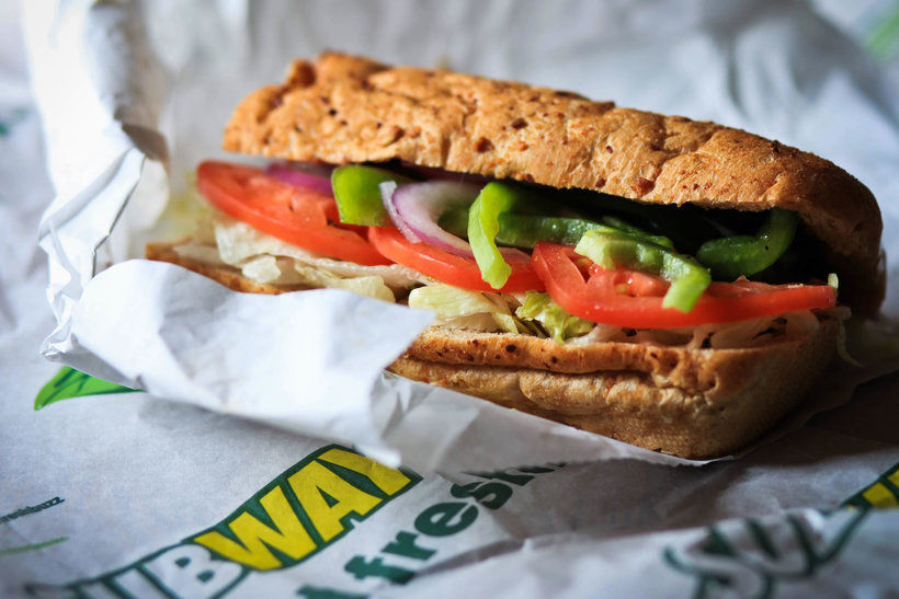 Сэндвич из SubWay, фото: thesatyrmag.com