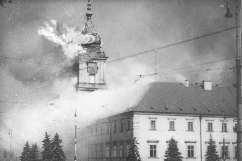Обстрел Варшавы. 1939 год